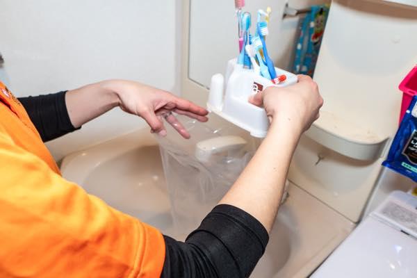 洗面所、お手洗い回り1
